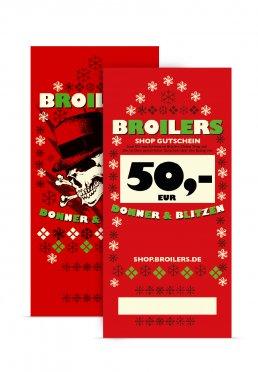 Broilers - 50 Euro - Shop Gutschein