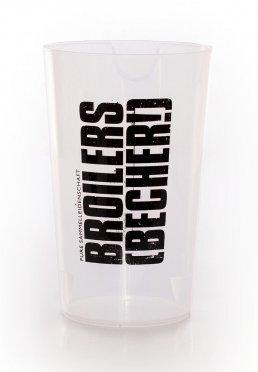 Broilers - Ein Liter - Becher