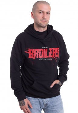 Broilers - (Sic!) And Destroy inklusive Rückendruck - Hoodie