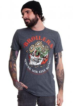 Broilers - Blume Grey - T-Shirt