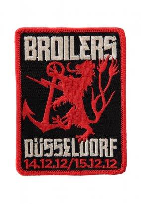Broilers - Düsseldorf - Aufnäher