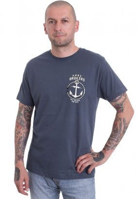 Broilers - Open Seas inklusive Rückendruck - T-Shirt