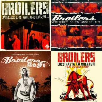 Broilers - CD Bundle
