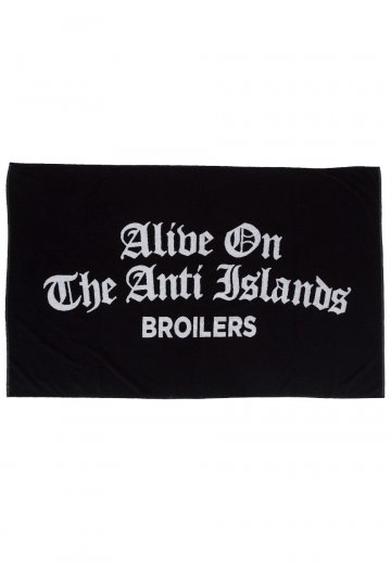Broilers - Alive On The Anti Islands - Handtuch
