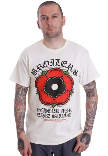 Broilers - Blume Vintage White - T-Shirt