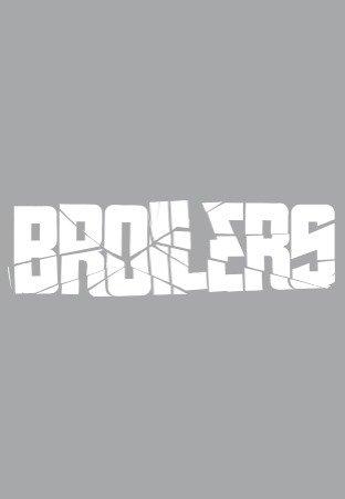 Broilers - Logo - Heckscheibenaufkleber