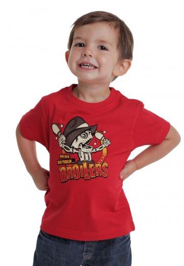 Broilers - Meine Sache, Mein Problem Red - T-Shirt