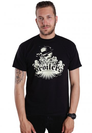 Broilers - Skull And Palms - T-Shirt