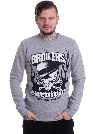 Broilers - Survivor Grey - Sweater