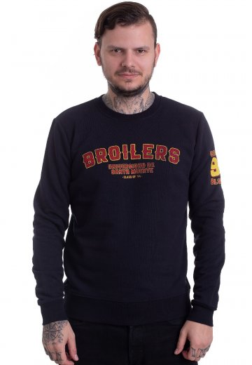 Broilers - Universidad De Santa Muerte Navy - Sweater